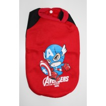 "Hundemantel ""Supersuit Captain America"""
